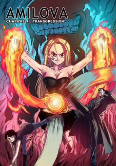 Amilova : manga cover