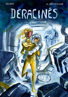 Déracinés -Image-board- : comic couverture