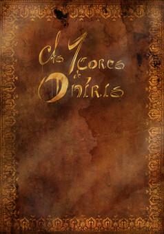 As 7 Cores de Oníris : manga portada