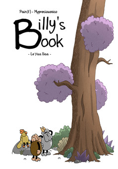 Billy's Book : comic couverture