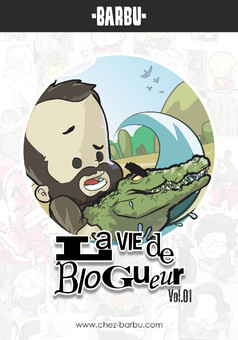 Barbu : La vie de blogueur : comic couverture