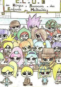 Les gnomes : manga cover