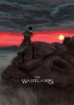 The Wastelands : manga couverture