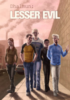 Dhalmun: Lesser Evil : comic cover