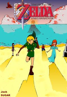 Zelda Link's Awakening : manga couverture