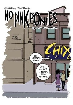No Pink Ponies! : comic couverture