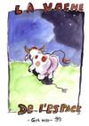 La vache de l'espace