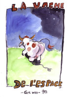 La vache de l'espace: couverture