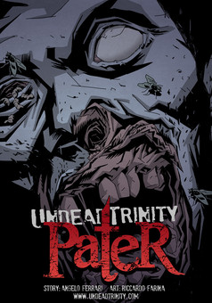 UNDEAD TRINITY : comic couverture