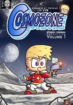 Cosmozone : manga couverture