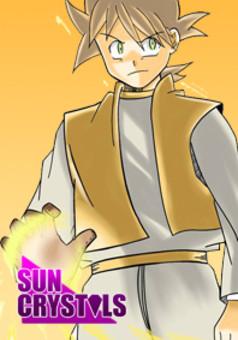 Sun Crystals : manga couverture