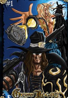 Grimm Legacy : manga cover