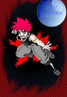 Evil Destiny : manga couverture