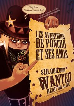 Les Aventures de Poncho : comic couverture
