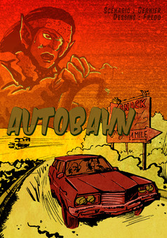 Autobahn : comic couverture