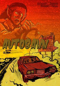 Autobahn : comic cover
