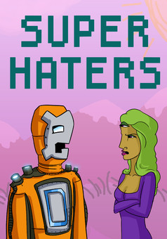 Super Haters : comic cover