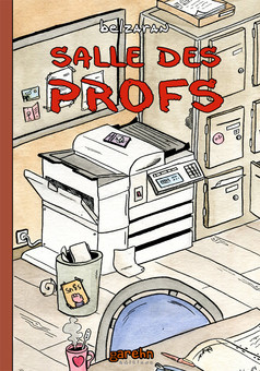 Salle des Profs : comic cover