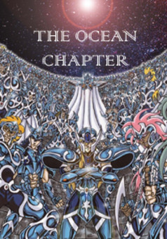 Saint Seiya - Ocean Chapter : manga couverture