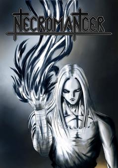 Necromancer : manga cover