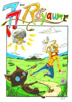 Le 77ème Royaume : manga couverture