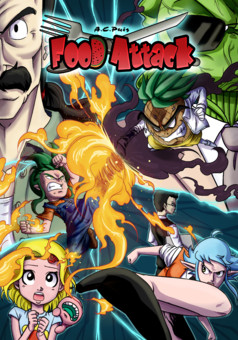Food Attack : manga portada