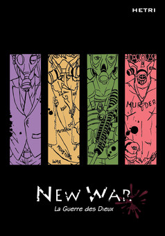 New War : manga couverture