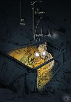 Les Fantômes Vagabonds : comic couverture