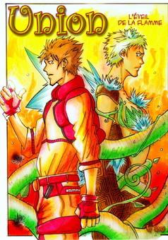 Union Hors-séries : manga couverture