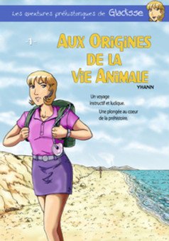 Aux origines de la vie animale : comic couverture