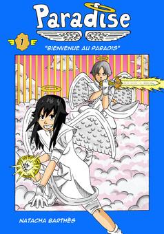 Paradise : manga cover