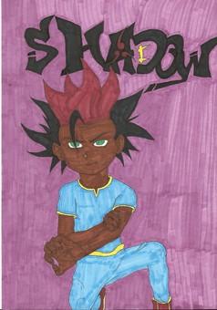 Shadow : manga couverture