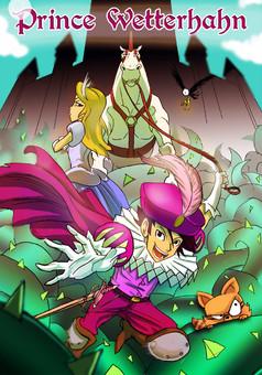 Prince Wetterhahn : manga cover