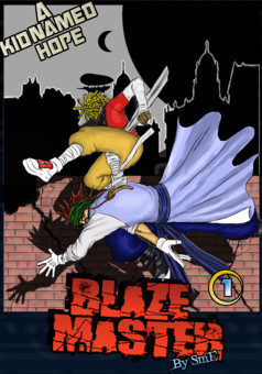 Blaze Master : manga couverture