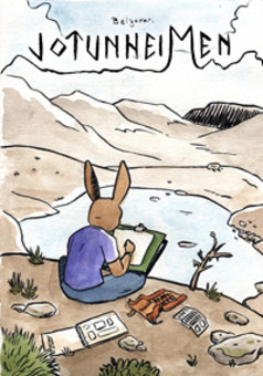 Jotunheimen : comic cover
