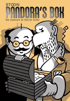 PANDORA'S BOX : comic cover