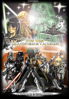 SW-Les Aventures de Valtorgun : manga couverture
