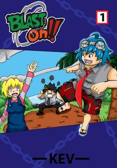 Blast On !! : manga cover