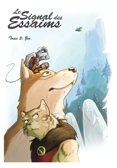 Le signal des essaims : comic cover