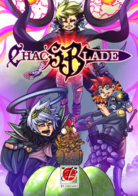 Chaos Blade: portada