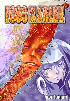 Ecos en la Arena OS : manga portada