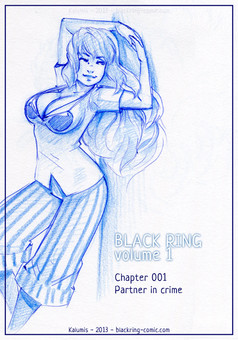 Black Ring : comic couverture