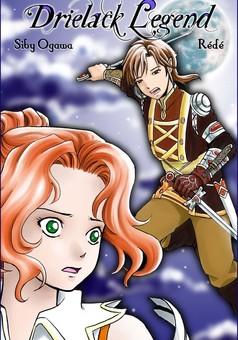 Drielack Legend : manga couverture