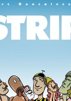 Strip & jeux de mots : comic couverture