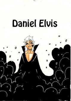 Daniel Elvis : manga couverture