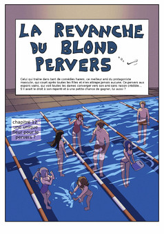 la Revanche du Blond Pervers : manga cover
