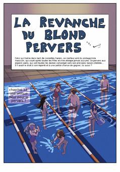 la Revanche du Blond Pervers : manga couverture