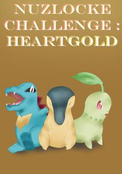 Nuzlocke Challenge : HeartGold : manga couverture