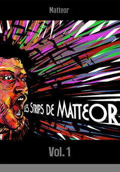 Les strips de Matteor : comic couverture