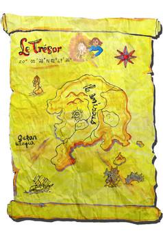 Le trésor : comic couverture